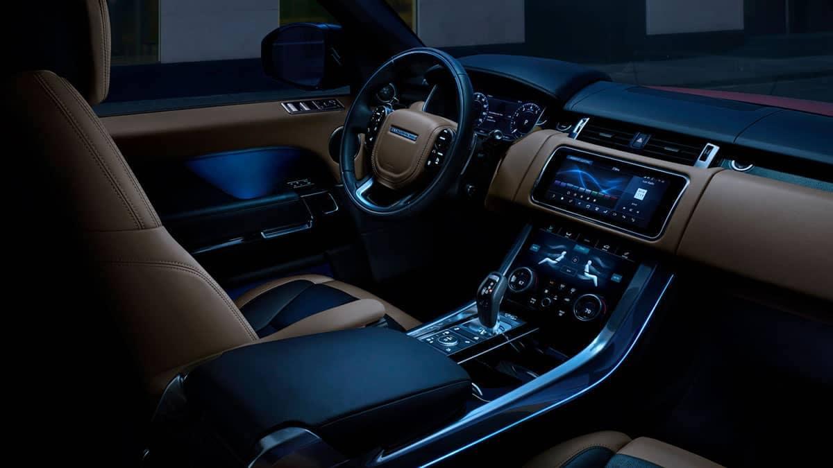 2019 Range Rover Sport front interior