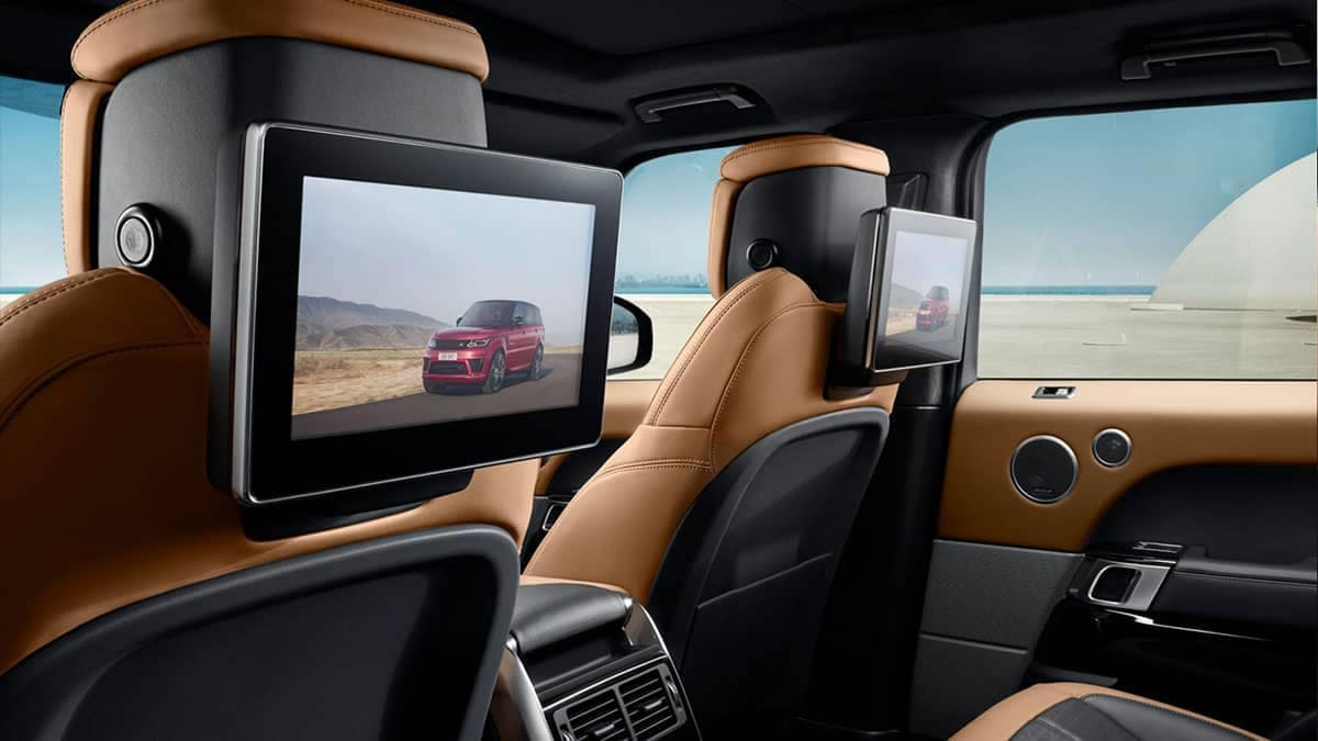2019 Range Rover Sport entertainment features
