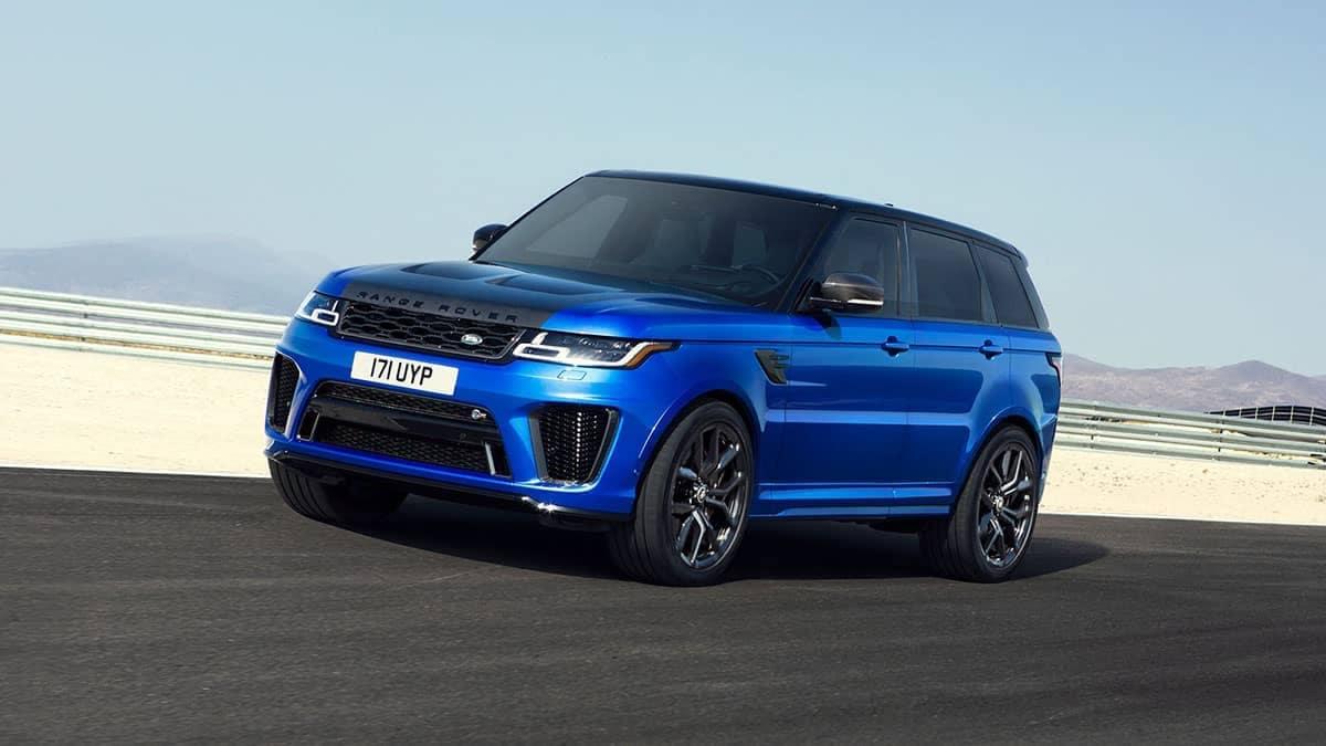2019 Range Rover Sport blue exterior