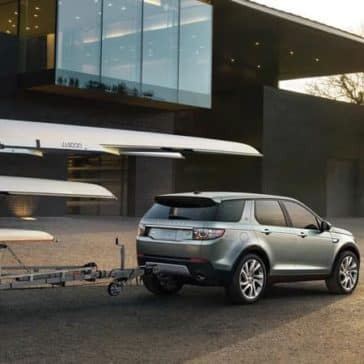 2019 Land Rover Discovery Sport Towing a Trailer