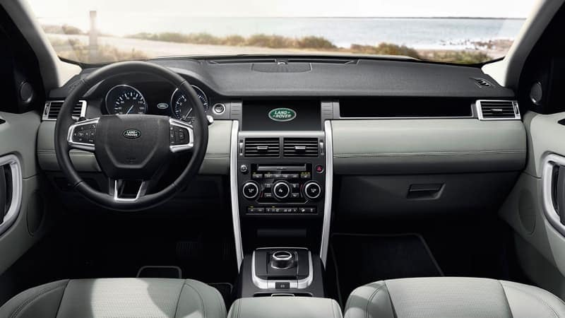2019 Land Rover Discovery Sport Dashboard Features