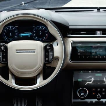 2019 Range Rover Velar Steering Wheel and Dashboard