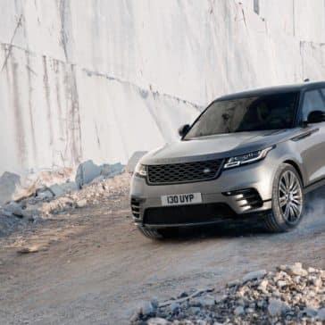 2019 Range Rover Velar Off-Roading Down Mountain Hill
