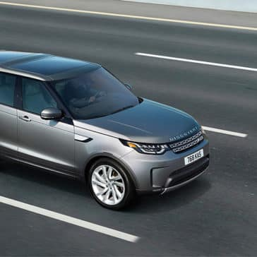 2019 Land Rover Discovery Driving