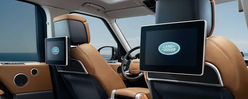 2019 Land Rover Range Rover Rear Seat Entertainment