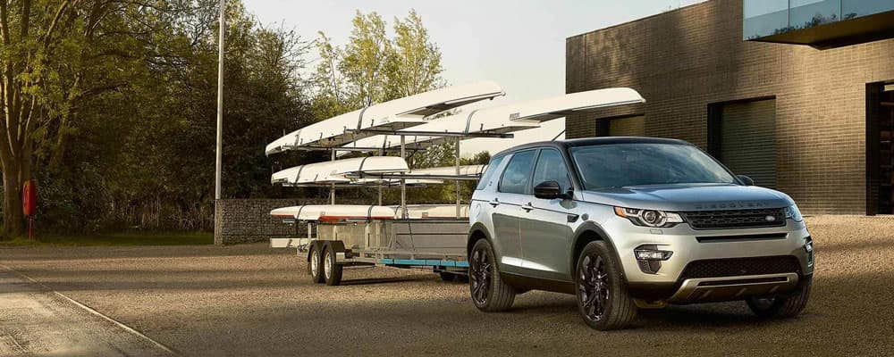 2019 Range Rover Discovery Towing Boats