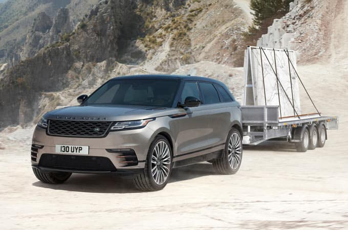 2019 Range Rover Vela Towing Material