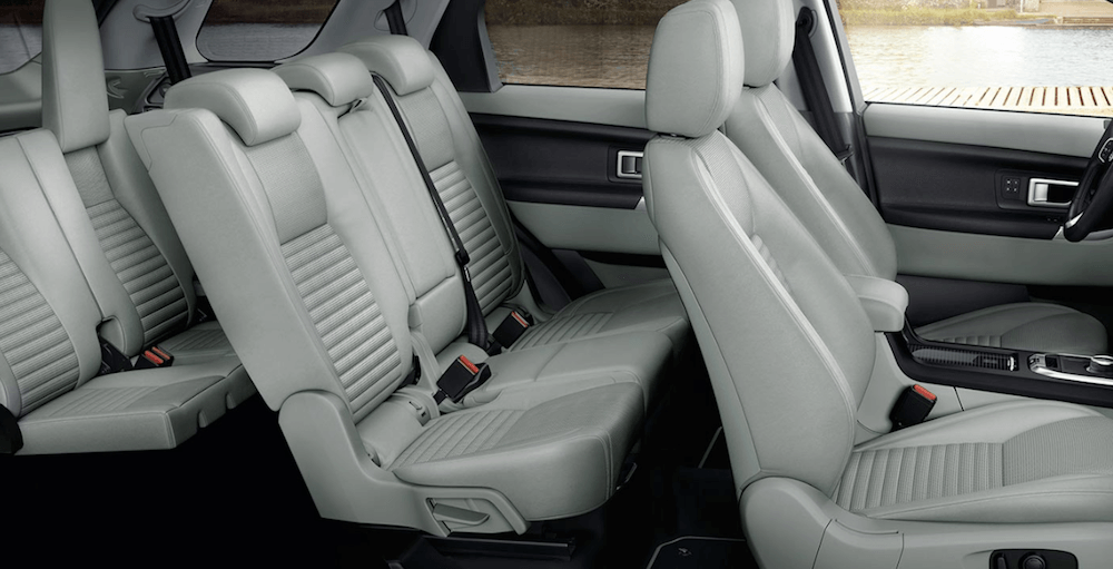 2019 Discovery Sport interior seating