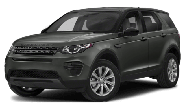2019 Land Rover Discovery Sport black SUV