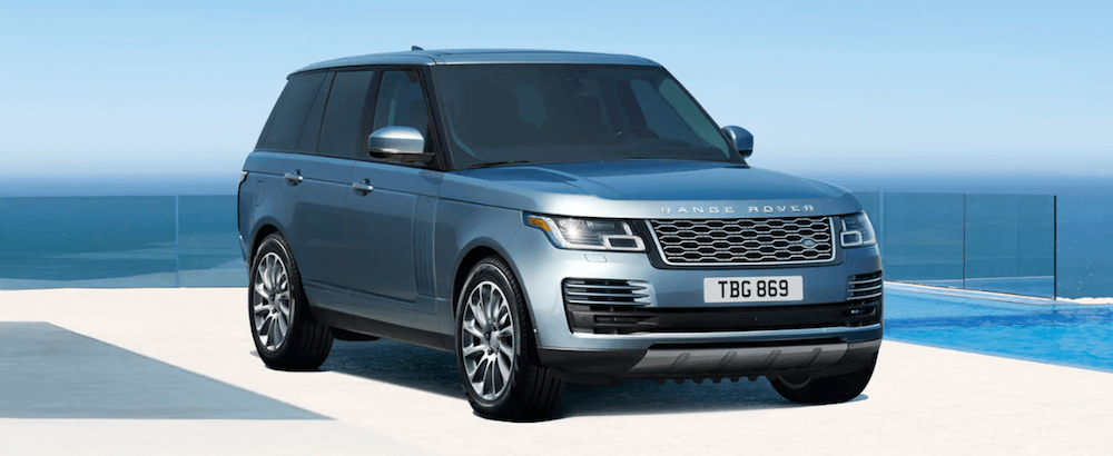 2019 Land Rover Range Rover near coast