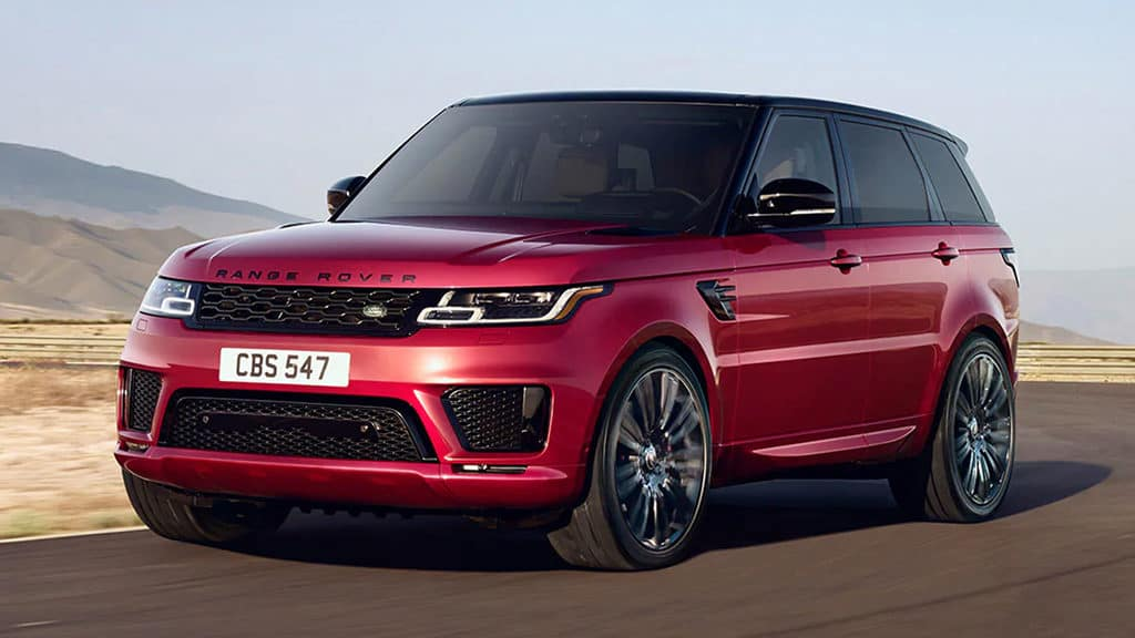 Lease a New 2020 Land Rover Range Rover Sport