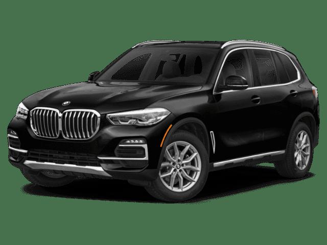 Black 2020 BMW X5