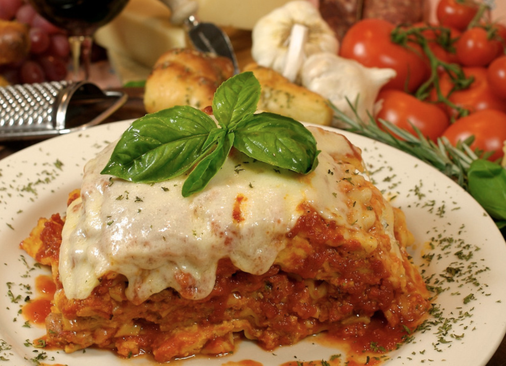 Best Italian Restaurants on Long Island (Cafe Baci)