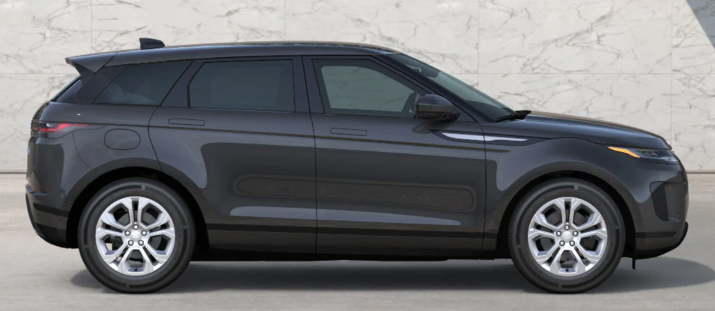 The 2021 Range Rover Evoque in Carpathian Grey