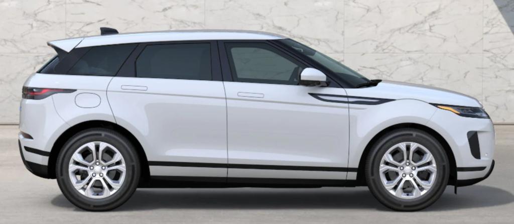 The 2021 Range Rover Evoque in Fuji White