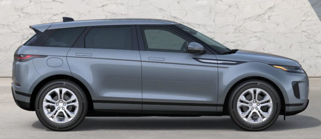 The 2021 Range Rover Evoque in Nolita Grey