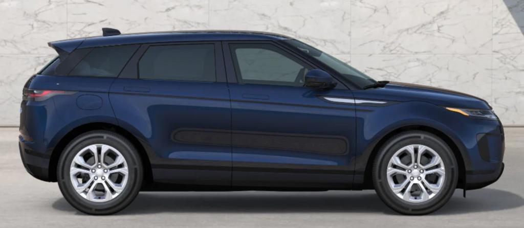 The 2021 Range Rover Evoque in Portofino Blue