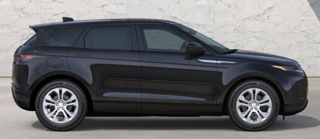 The 2021 Range Rover Evoque in Santorini Black