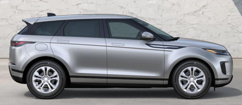 The 2021 Range Rover Evoque in Seoul Pearl Silver