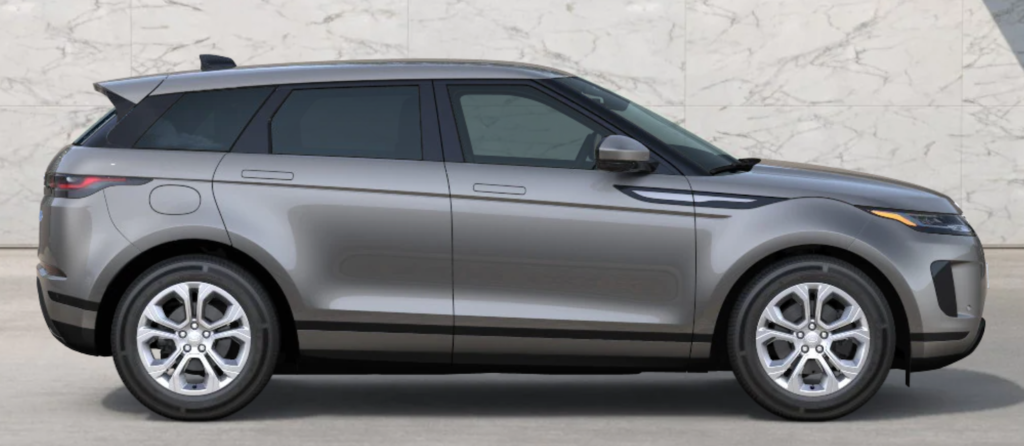 The 2021 Range Rover Evoque in Silicon Silver