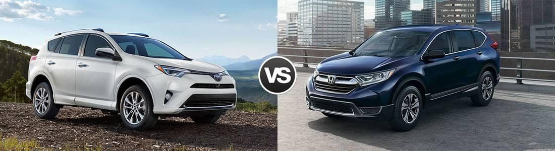 Compare 2017 toyota rav4 vs honda cr v for Honda rav 4