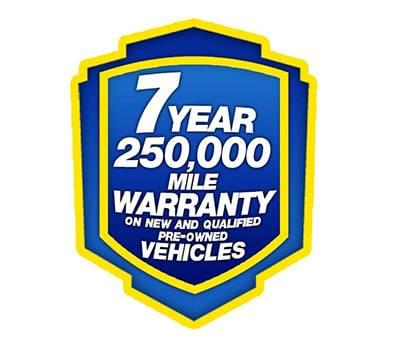 7 Year 250K Warranty Logo