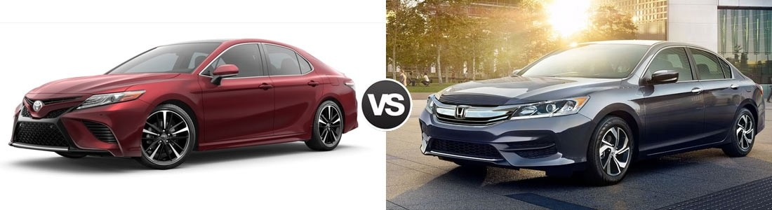 Superior 2018 Toyota Camry Vs 2017 Honda Accord