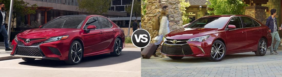 compare 2018 toyota camry vs 2017 toyota camry