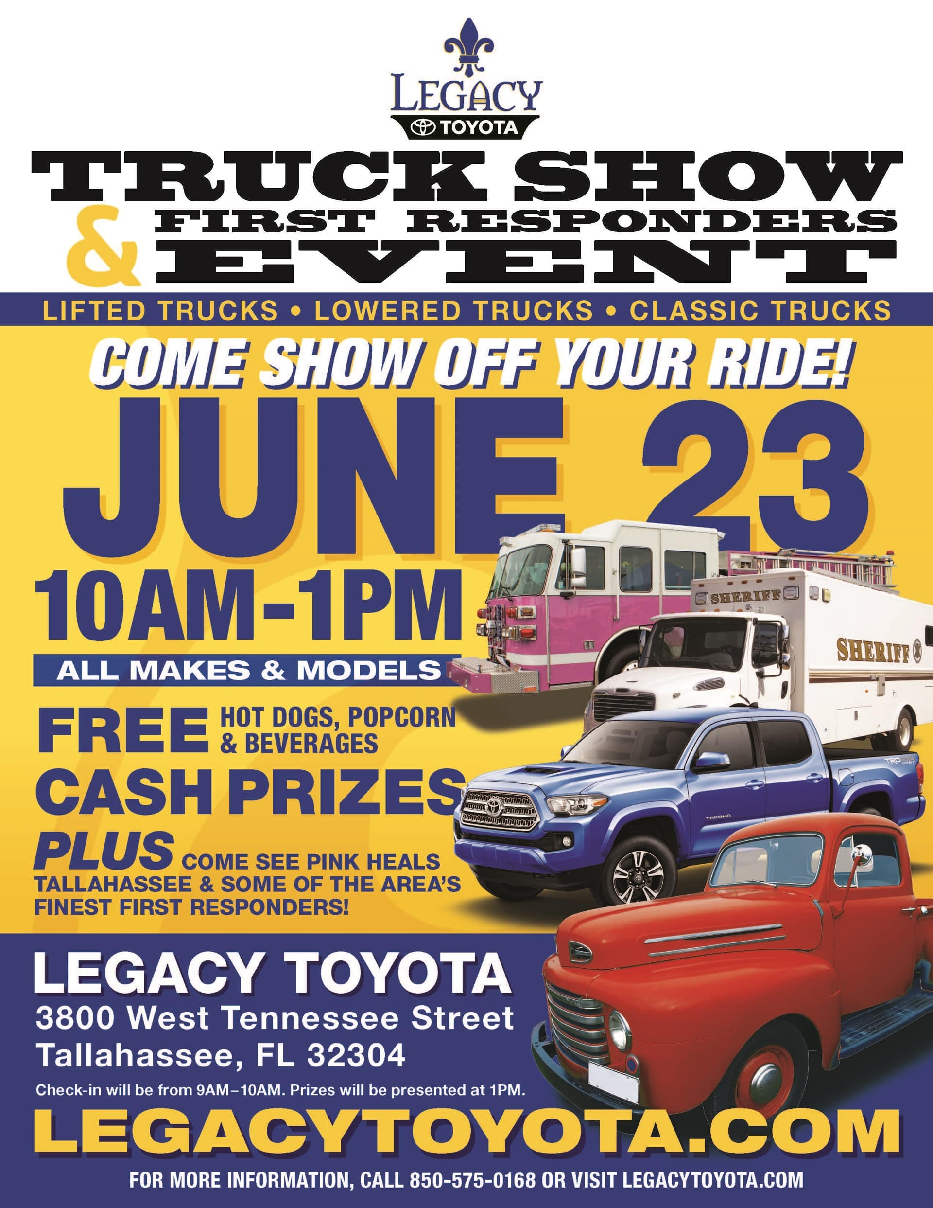Legacy Truck Show June 23 2018