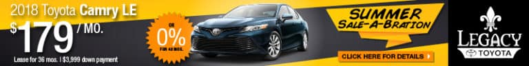 2018 Toyota Camry LE Special Tallahassee FL