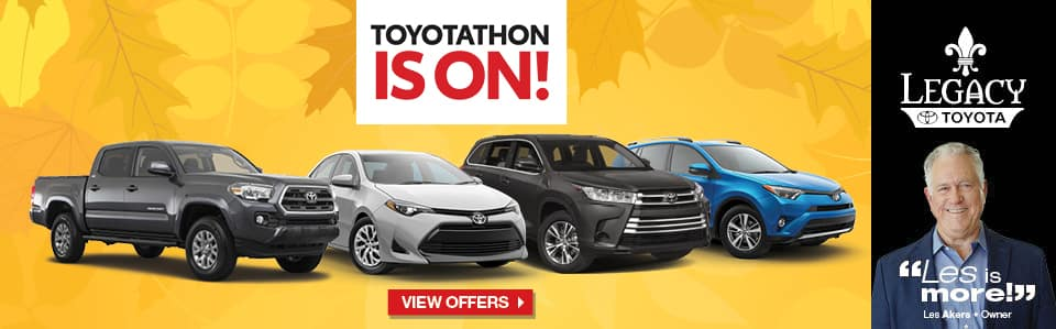Toyotathon is On at Legacy Toyota in Tallahassee FL