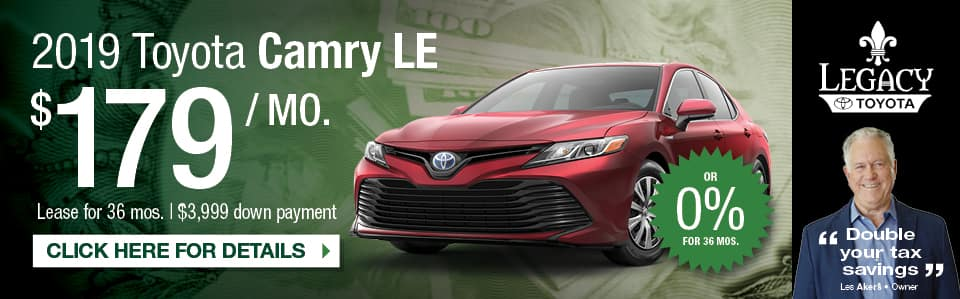 New Toyota Camry Special Tallahassee FL