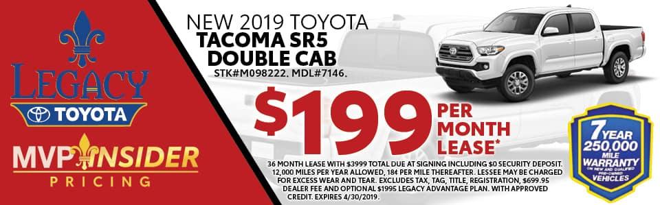 2019 Toyota Tacoma SR5 Special Tallahassee FL