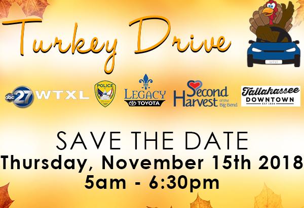 2018 Turkey Drive Tallahassee FL November 15 2018