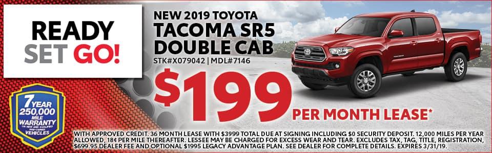 2019 Toyota Tacomca SR5 Special Tallahassee FL
