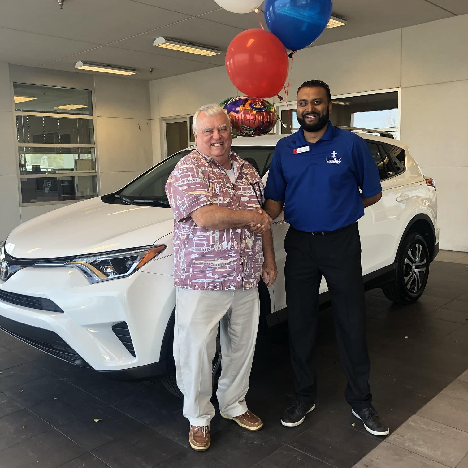 RAV4YOU Winner Terry Cappellini Tallahassee FL