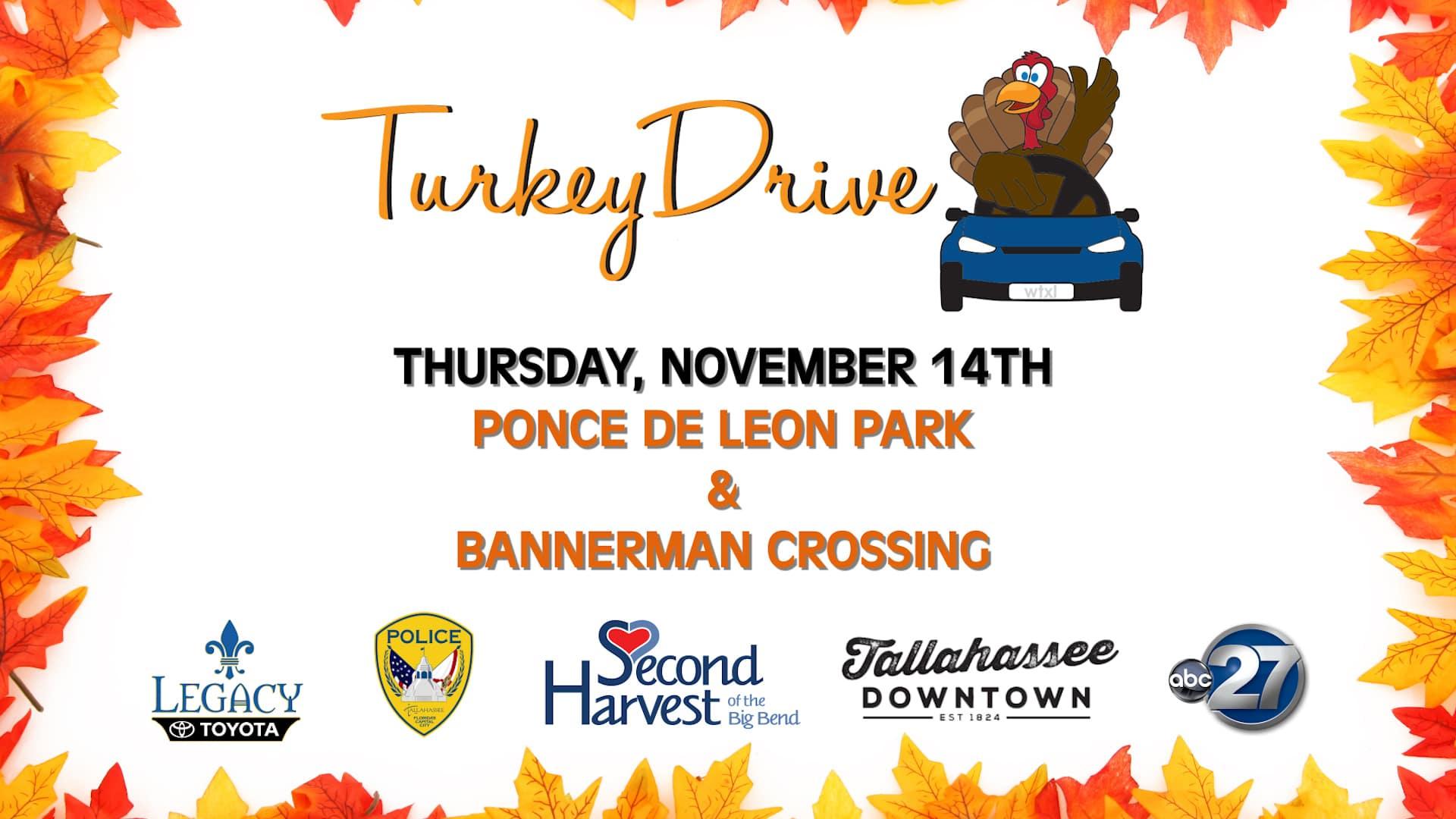 Turkey Drive November 14 Tallahassee FL