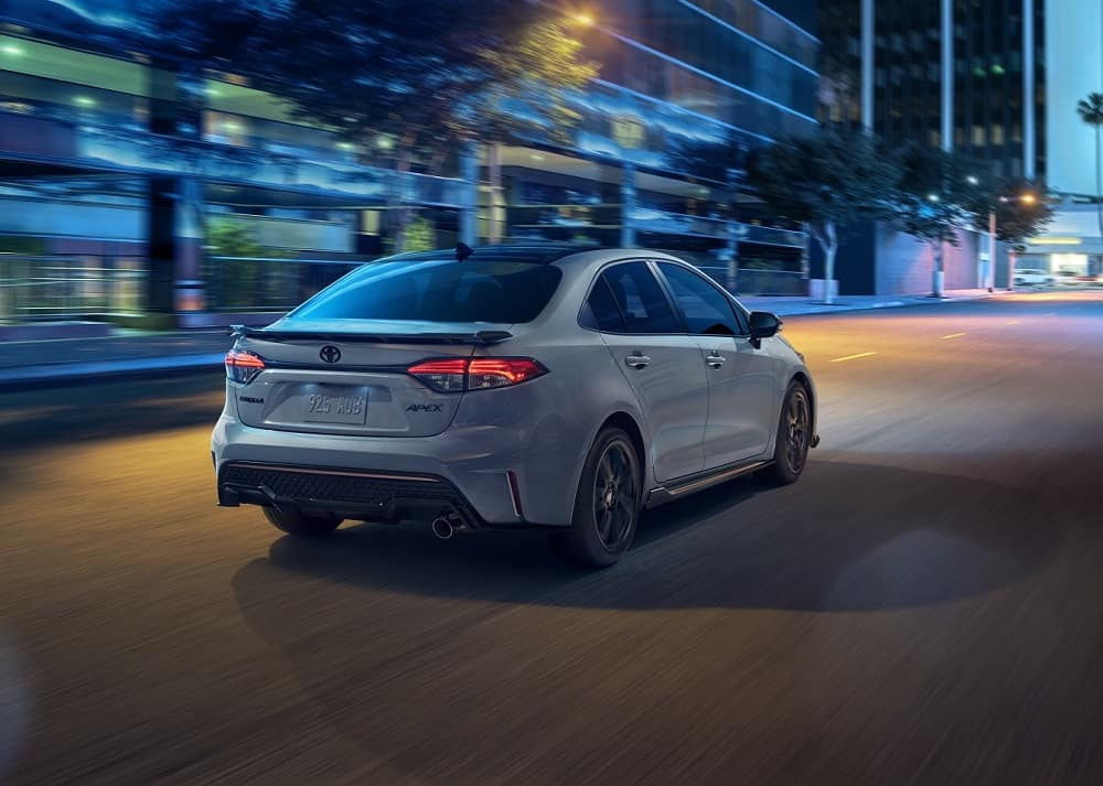 2021 Toyota Corolla Driving on Road