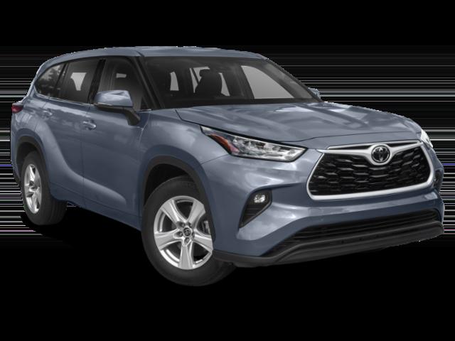 New 2021 Toyota Highlander LE