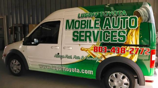 Lugoff Toyota Mobile Auto Services Van
