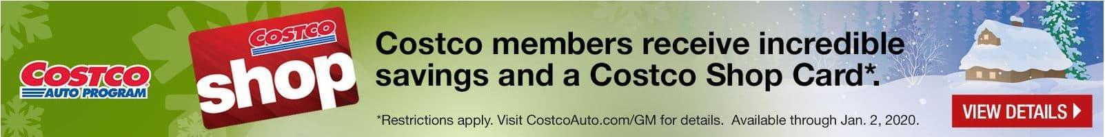 costco savings banner