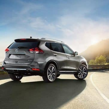 2018 nissan rogue sl awd exterior gun metallic original