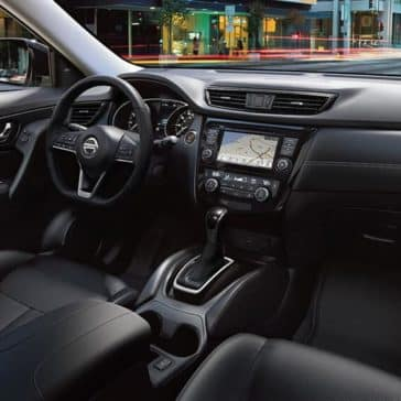 2018 nissan rogue sl interior charcoal leather original