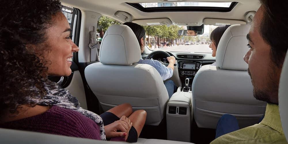 2018 5 Nissan Rogue Sport Interior design backseat
