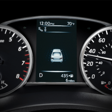 2019 Nissan Sentra display
