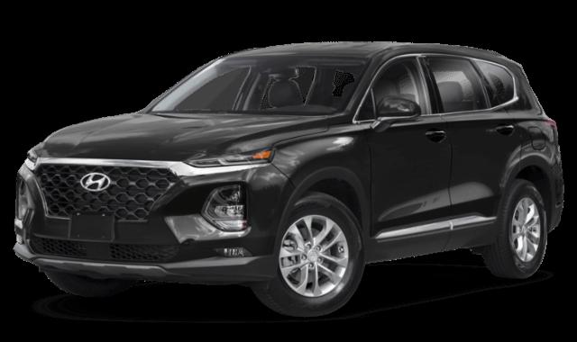 2019 Hyundai Santa Fe black compare (1)