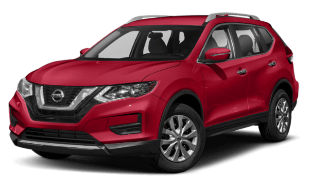 2019 Nissan rogue red compare (1)