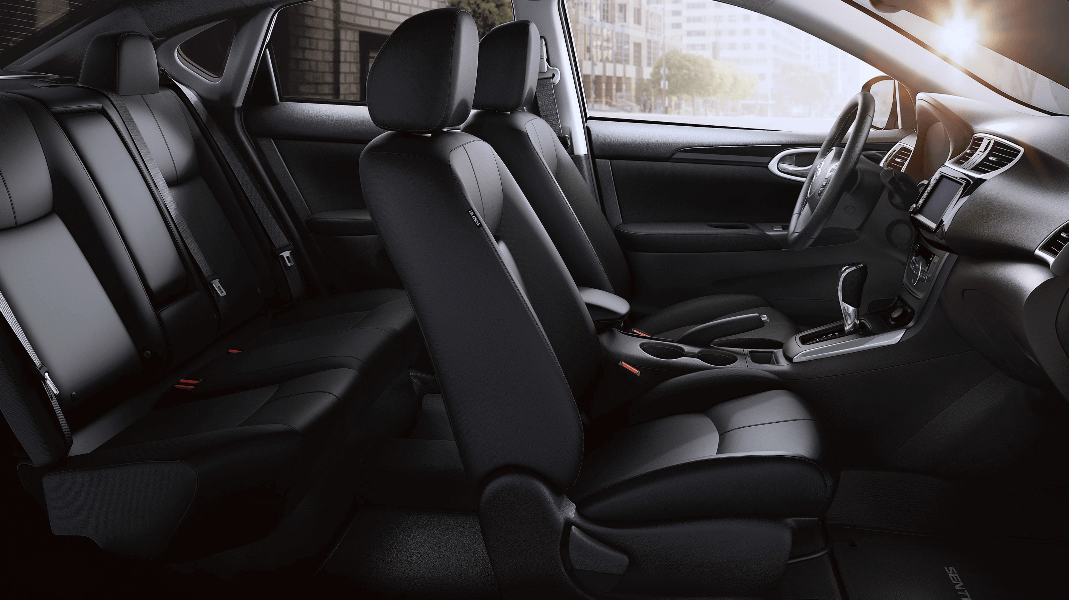 2019 Nissan Sentra interior seating