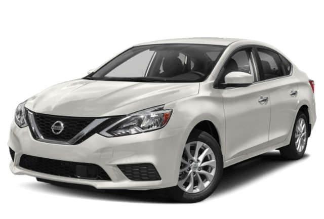 2019 Nissan Sentra white car
