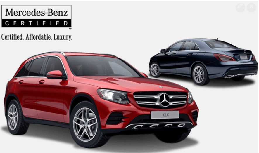 Certified Pre-Owned C-Class <br> (including AMG)